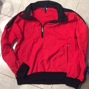 North Face pull over nylon jacket